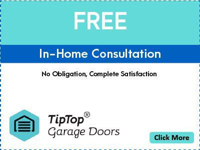 Tip Top Garage Doors Nashville - Coupon - Free - In Home Consultation